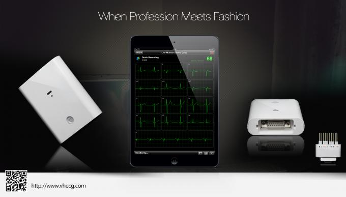 Bluetooth Transfer Ecg Ambulatory Monitoring With Smart Iphone ECG D Evice 0
