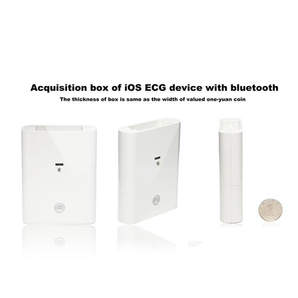 White IPad ECG Machine 12 Lead ECG Smart Bluetooth Connection ICV200BLE 0