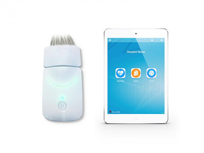 FDA Wireless Resting Bluetooth ECG Machine 0